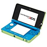 GTMax Green Aluminum Hard Metal Cover Case for Nintendo 3DS