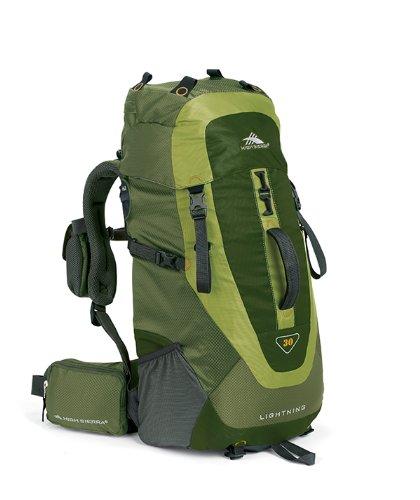 High Sierra Lightning 30 Frame Pack Amazon/Pine/Leaf'