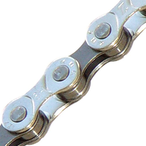 Kmc Z7 Bicycle Chain (Silver/Gray, 1/2 X 3/32 - Inch, 116 Links)