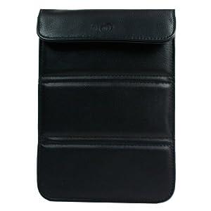 Kroo WRAPPER Case for Playbook/Nook Color/Fits up to 7-Inch e-Reader (Black)