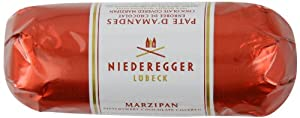 Niederegger Dark Chocolate Covered Marzipan Loaf 75 g (Pack of 2)