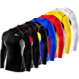 Men's Boys TCA HyperFusion Compression Base Layer Top Long Sleeve Under Shirt