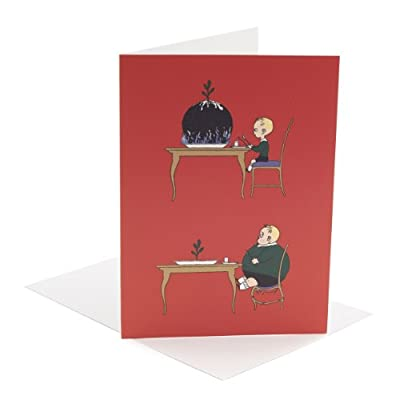 V&A Christmas Cards - Pudding Boy (Pack of 10, Large Rectangle)||RF20F||EVAEX