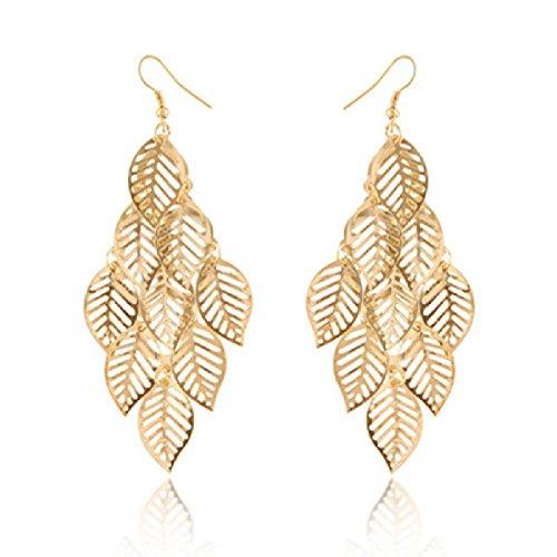 trod-bohemia-style-nine-leaves-long-fashion-dangle-pendant-earring-hook-gold