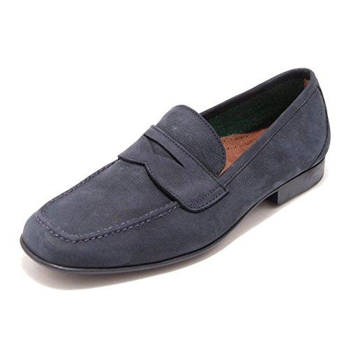 3433G mocassino uomo blu ROSSETTI YACHT ALICANTE scarpa loafer shoes men [6]