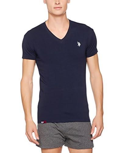 US POLO ASSN Camiseta Manga Corta Azul Marino