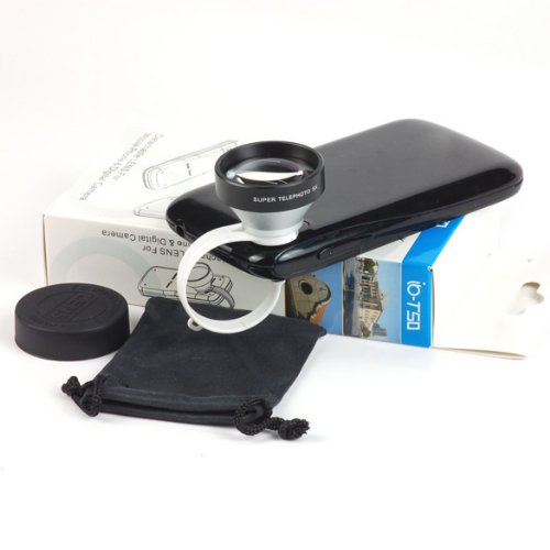 Docooler Universal Clip 5X Super Telephoto Lens For Iphone Iphone 5/5S Samsung S4/Note3 Nexus5 Htc One Etc