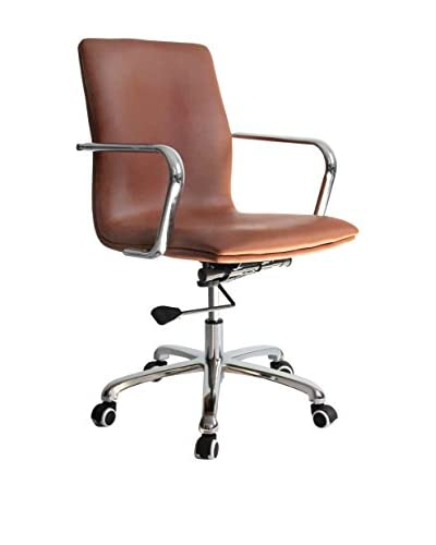MaxMod Confreto Conference Office Chair Mid Back, Light Brown