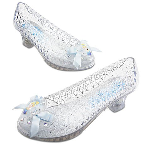 Disney Light-Up Cinderella Shoes for Girls Size 9/10