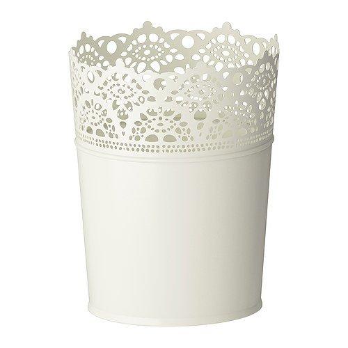 ikea-cache-pot-acier-galvanise-motif-fleuri-blanc-12-cm