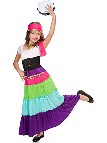 Goddessey girls Child Renaissance Gypsy Costume