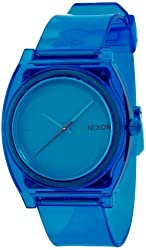 NIXON TIME TELLER P: TRANSLUCENT BLUE NA1191781-00