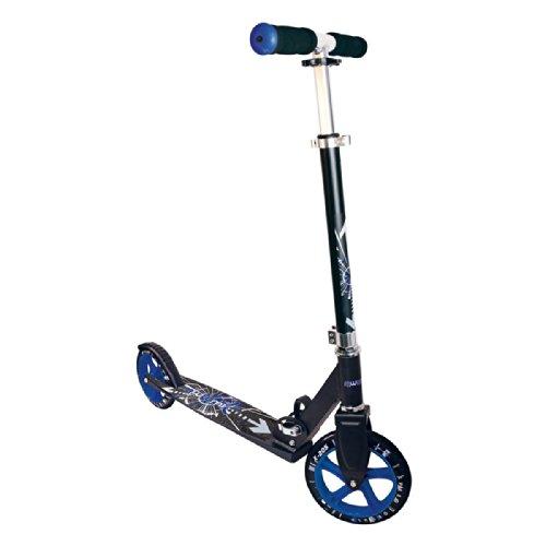 muuwmi Aluminium Scooter Roller STB 205 BLAU SCHWARZ