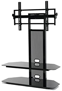 TransDeco TV Stand with Universal Mounting System for 35 to 65-Inch LCD/LED TV