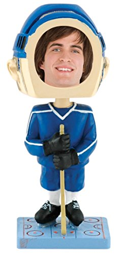 Hockey Player Photo Bobble Head