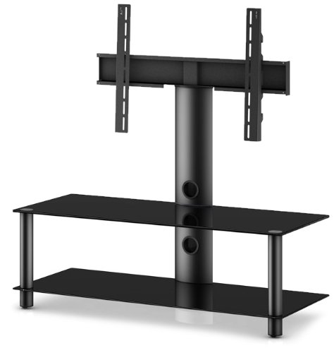 Sonorous Neo 110 Canteliver Television Stand for Upto 50 inch TV - Black