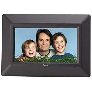 Impecca DFM-720N 7-Inch Digital Photo Frame - 3 in 1 Multimedia Player