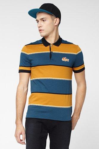 L!VE Short Sleeve Bold Stripe Polo