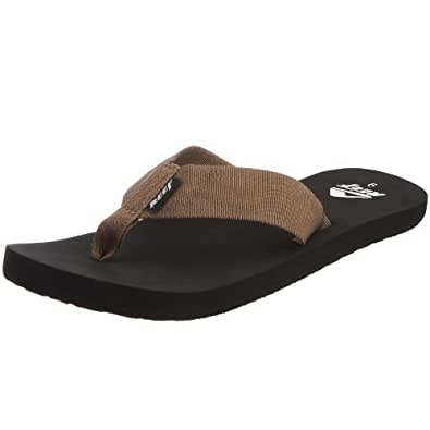 Amazon.com: Reef Men's Todos Flip Flop, Tan/Black, 7 M US: Shoes