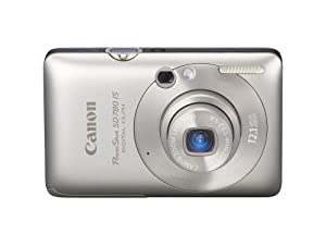 Canon PowerShot SD780IS 12.1 MP Digital Camera with 3x Optical Image Stabilized Zoom and 2.5-inch LCD (Silver)