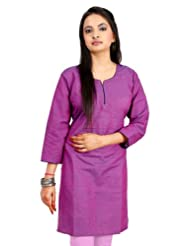 Shopping Rajasthan Exclusive Design Ethnic Pure Cotton Handmade Handloom Indian Regular Wear Kurti - B00PHBW27G