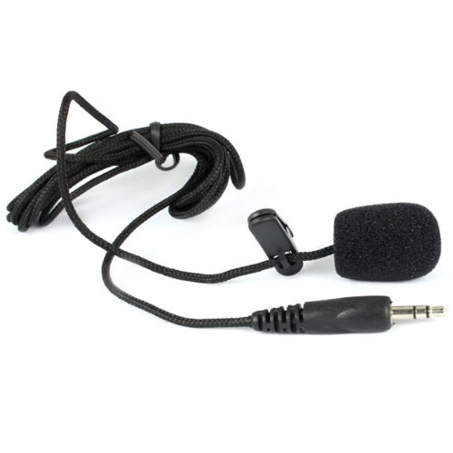 Amtonseeshop New Portable Mini 3.5Mm Tie Lapel Lavalier Clip Microphone For Lectures Teaching
