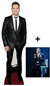 *Fan Pack* Michael Buble Lifesize Cardboard Cutout (Standee / Standup) - Includes 8X10 (25X20Cm) Star Photo - Fan Pack #315