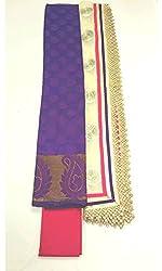 BEAUVILLE VAIIBAVAM Women's Unstiched Salwar Material (BVPCUC_19_Multi_Free Size)