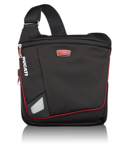 Tumi Luggage Ducati Deso Flap Crossbody Bag, Track, Medium