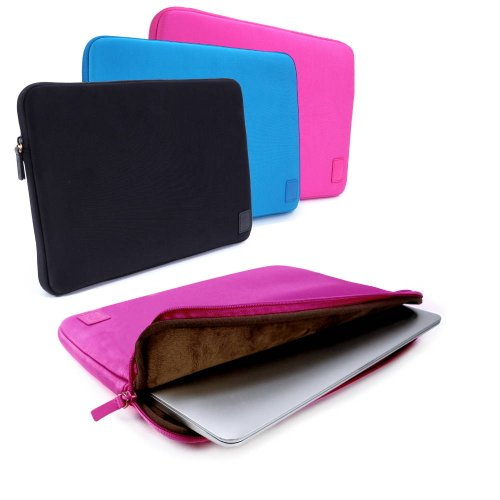 """Cub-Skinz Neoprene Protective Sleeve Case Cover / Pink / 13"""" Laptop / Tablets / Ultrabooks Devices Including (Acer Aspire 1410 / 1420P / 1810T / 1820P / 2920 / 2930 / 3410 / 3935 / 4110 / 6293 / 8471 / Extensa 4230 / Ferrari 1200 / Ferrari One 200 / One 7"""