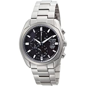 Citizen Men's CA0020-56E Eco Drive Titanium Watch