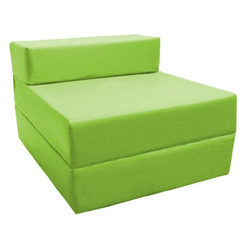 Magnificent Best Comfortable Fold Out Z Bed Chair In Lime Soft Pabps2019 Chair Design Images Pabps2019Com