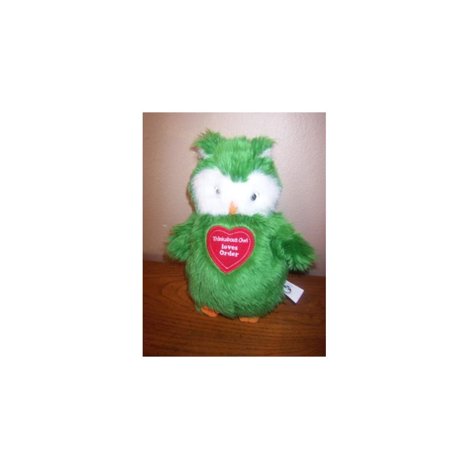 Thinkabout Owl Loves Order Plush Puppet
