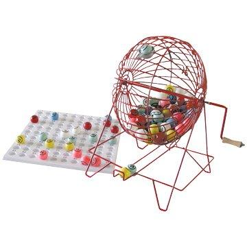 Giant Bingo Cage, Balls  &  Board