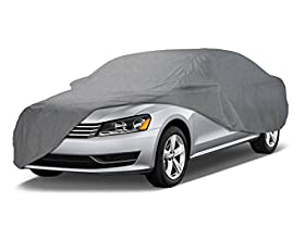 Coverking UVCCAR3I98 Universal Fit Cover for Sedan Length 14.3 ft. to 16.8 ft. - Triguard (Gray)