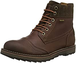 Geox U Shoovy Wp A, Stivaletti, Uomo, Marrone (Brown/Chestnut), 40