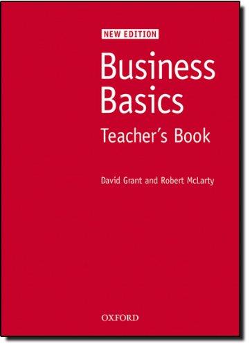 Business Basics New Edition: Business basics tb new ed: Teacher's Book