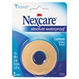 """Nexcare Absolute Waterproof First Aid Tape, 1"""" x 5 yds-1 roll"""
