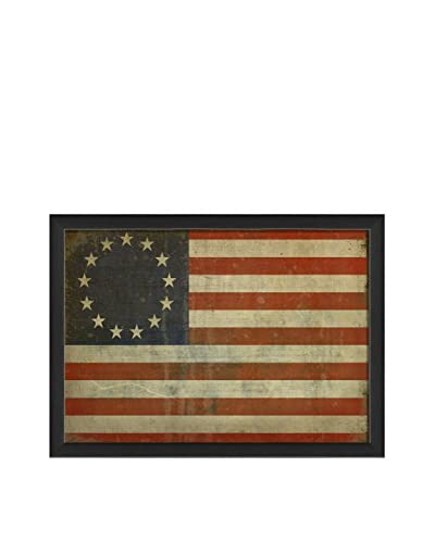 The Artwork Factory Betsy Ross Flag III Print