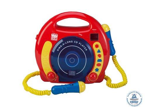 happy-people-11011-lettore-cd-per-bambini-con-due-microfoni-importato-da-germania