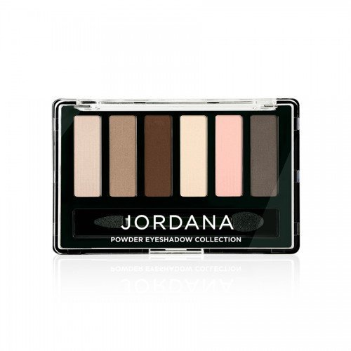 (6 Pack) JORDANA Made To Last Powder Eyeshadow Collection - Make Me Matte