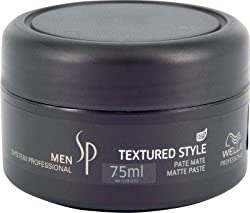 Wella System Professional Men Texture Style Pate Mate Paste Hair Styler(75ml)