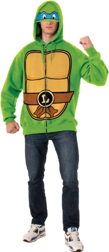 Rubie's Costume Men's Teenage Mutant Ninja Turtles Adult Leonardo Hoodie