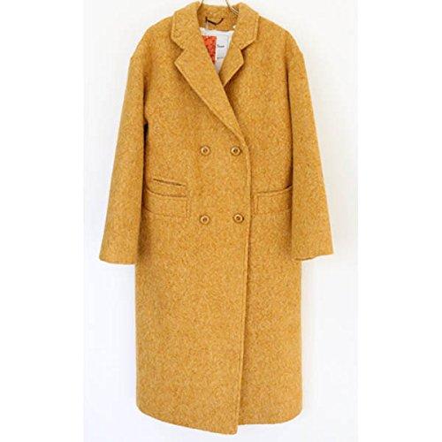Amazon.co.jp: (リリーブラウン)Lily Brown ライナー付チェスターコート lwfc145010 イエロー F: Amazonファッション通販