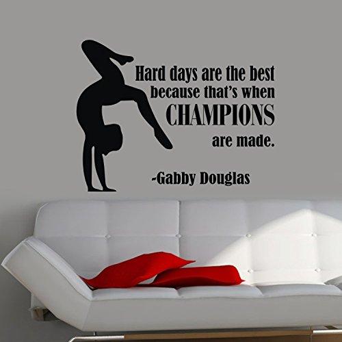 Gym Gymnastics Sport Sportman Wall Dacals Sticker For Living Room Kid'S Room (B) front-217597