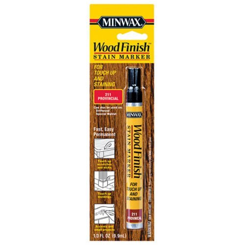Minwax 63483 Wood Finish Stain Marker Interior Wood Red