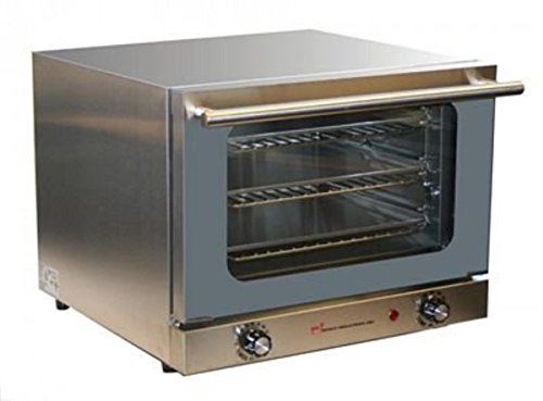 Wisco Wisco-620 Commercial Convection Counter Top Oven, Silver (Small Counter Oven compare prices)