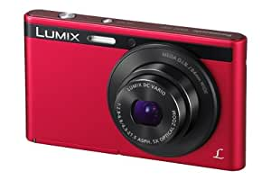 Panasonic Lumix DMC-XS1EB-R Compact Camera - Red (16.1MP, 5x Optical Zoom, 24mm Ultra Wide Angle, HD Video Recording, Micro SD) 2.7 inch LCD