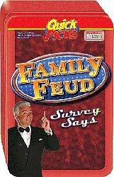 Quick Picks Family Feud Game In Tin