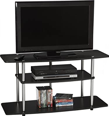Convenience Concepts Designs2Go Wide 3-Tier TV Stand